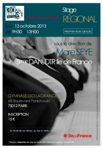 13 octobre 2013 - Stage Régional Mare Seye