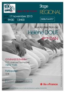 17 novembre 2013 - Stage Régional Hélène Doue