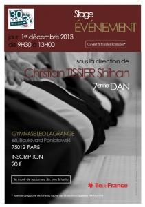 Stage Événement - Christian Tissier 7ème dan