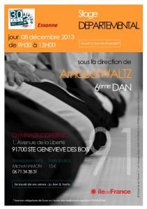 Stage départemental 91 - Arnaud Waltz - 6ème dan