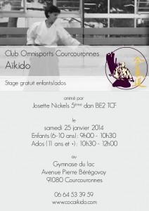 Stage Enfants/Ados – Josette Nickels-Grolier – 5ème DAN