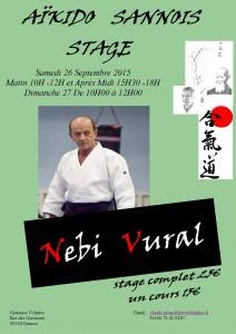 Stage Nebi Sannois 26-09-2015