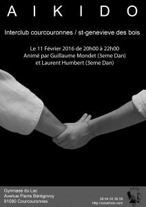 Interclub avec Sainte Geneviève des Bois jeudi 11 février