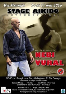 Stage International avec Nebi Vural 14 et 15 Mai