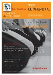 Stage Départemental 93 avec Arnaud Waltz