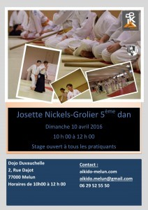 Stage Enfants gratuit avec Josette Nickels