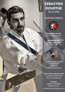 Stage dirigé par Sébastien Dourthe, 5ème dan Eurasia Aikido