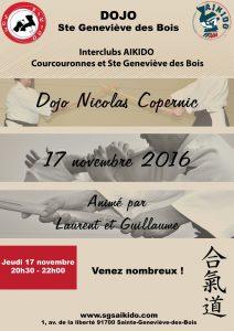 Interclub avec Sainte-Geneviève-des-Bois jeudi 17 novembre