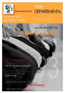 Stage Départemental 93 dirigé par Philippe Grangé (6ème dan)