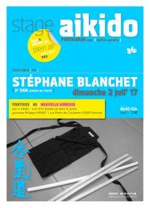 Stage ken + aïkido dirigé par Stéphane Blanchet, 5ème dan Aïkikai