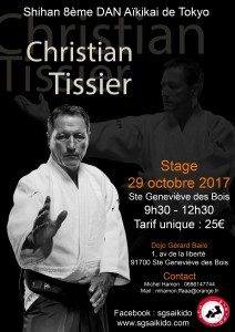 Stage Privé dirigé par Christian Tissier 8ème dan Shihan
