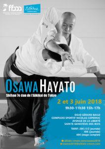 Stage International dirigé par Hayato Osawa 7ème Dan Shihan