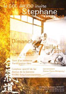 Stage dirigé par Stéphane Blanchet, 5ème Dan de l'Aikikai de Tokyo