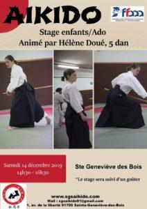 Stage enfants/ados avec Hélène Doué